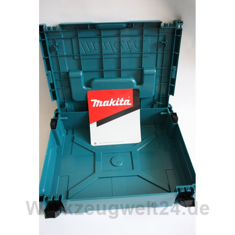 makita makpac gr 3 leer transportkoffer systembox stapelbox werkz. Black Bedroom Furniture Sets. Home Design Ideas