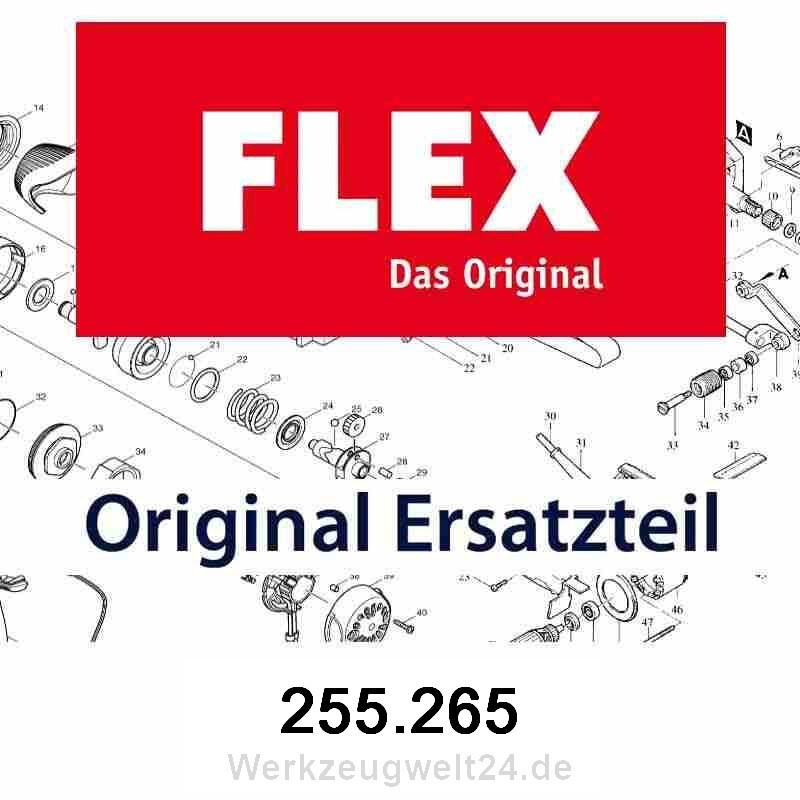 255.265 Flex Schleifschuh spitz